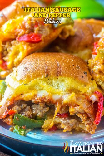 Italian Sausage and Pepper Sliders