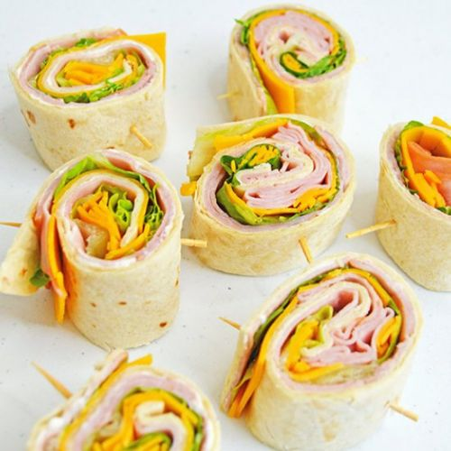 Ham And Cheese Pin Wheels