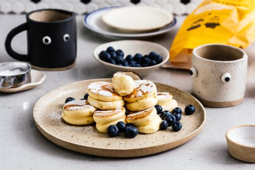 Mile High Mini Japanese Soufflé Pancakes Recipe