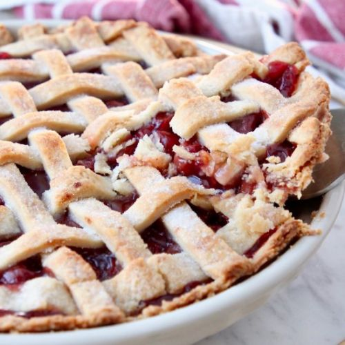Mom's Famous Cherry Pie