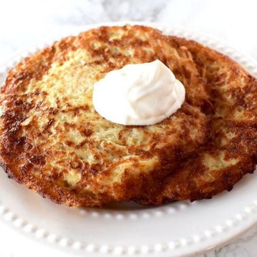 Potato Latkes for Hanukkah