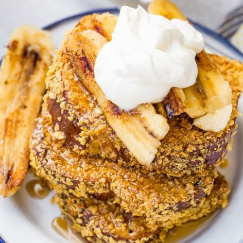 CADE'S BANANAS FOSTER FRENCH TOAST
