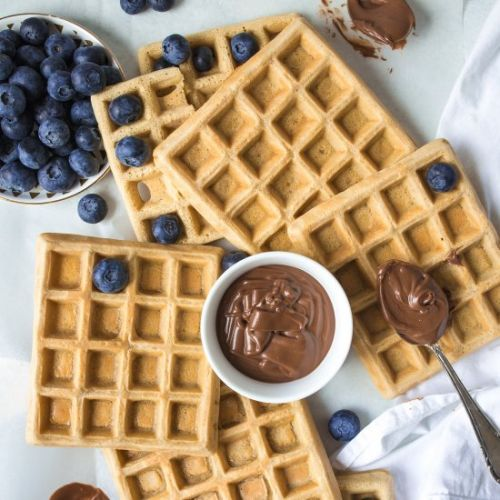 BASIC VEGAN WAFFLES FOR BEGINNERS