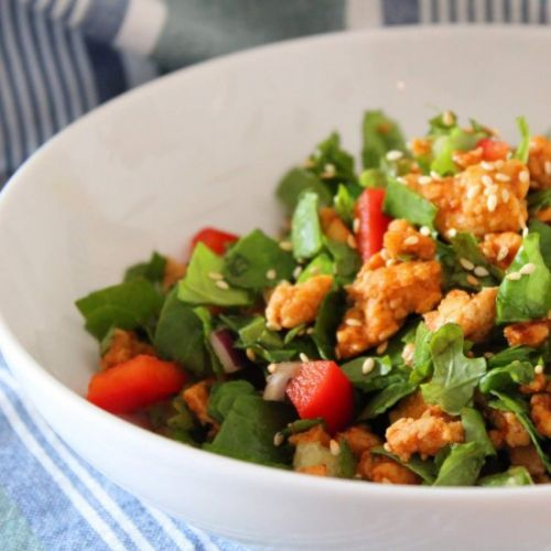 Honey Sriracha Turkey Salad