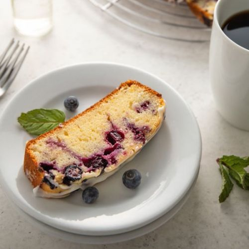 Lemon blueberry loaf bread