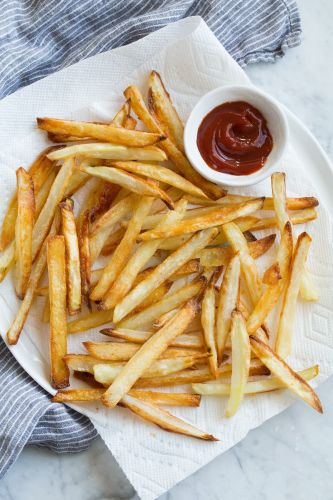 French Fries {Oven Baked}