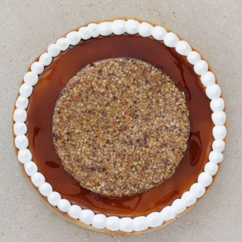Hazelnuts and Coffee Tart