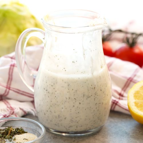 How to Make Homemade Healthy Ranch Dressing
