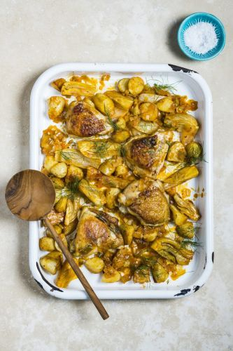 Harissa Lemon Chicken