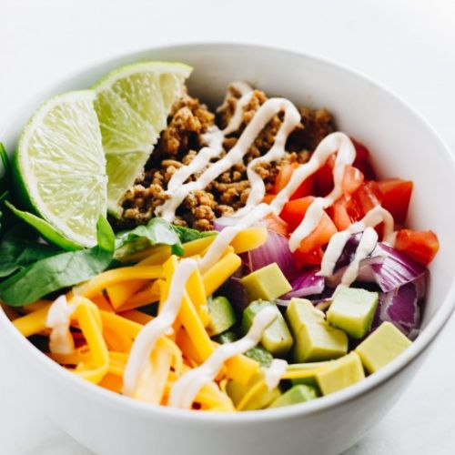 Clean Eating Taco Bowls