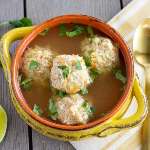 Chicken Albondigas