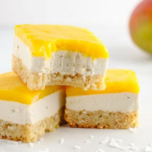 Coconut Mango Bars