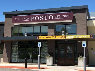 Pizza For Lunch: Osteria Posto & Spiga Ristorante