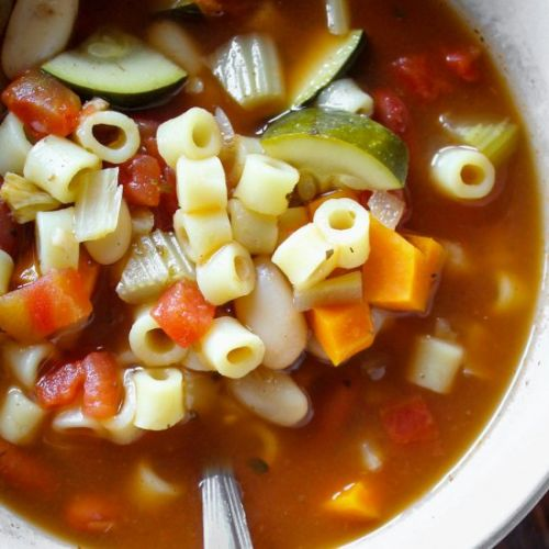 Easy Slow Cooker Minestrone