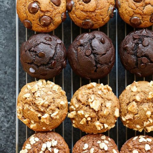 6 Healthy Muffin Recipes