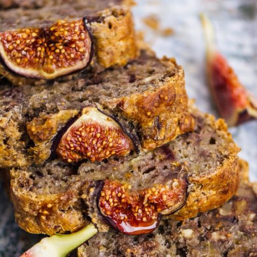 Banana Fig Bread Recipe