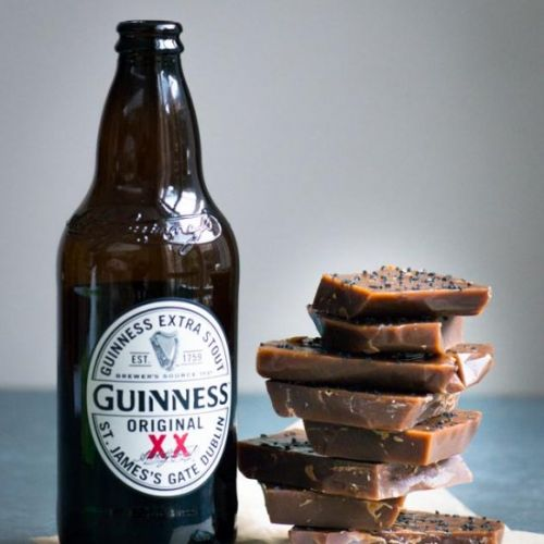 Guinness & Black Salt Caramels