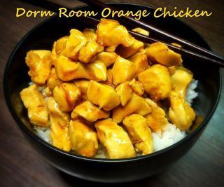 Dorm Room Orange Chicken