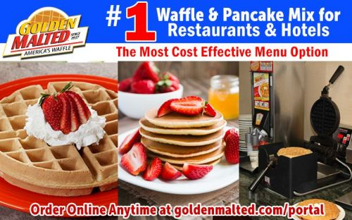 1 Waffle & Pancake Mixes for Restaurants & Hotels - Golden Malted Makes it Easy