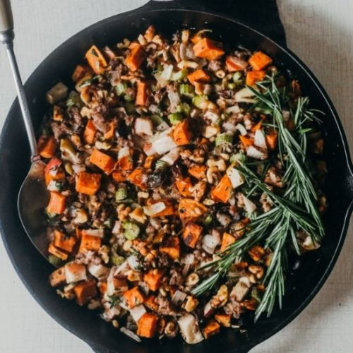 Paleo and Whole30 Holiday Stuffing
