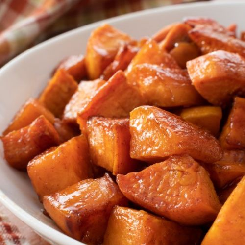 Honey Butter Roasted Sweet Potatoes