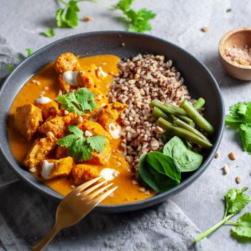 Mango Chicken Curry Slow Cooker