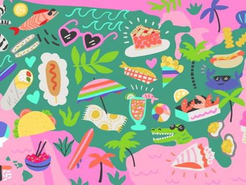 The Ultimate Guide to Regional Beach Food in America