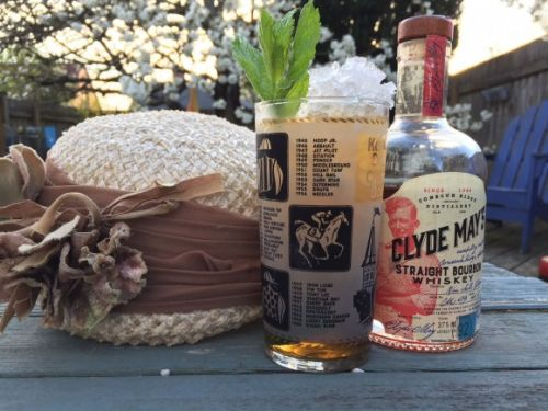 What I'm Drinking: The Mint Julep with Clyde May's Straight Bourbon