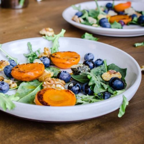 Apricot Blueberry Salad