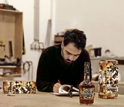 Hennessy Announces Latest Limited Edition Bottle Artist, Vhils