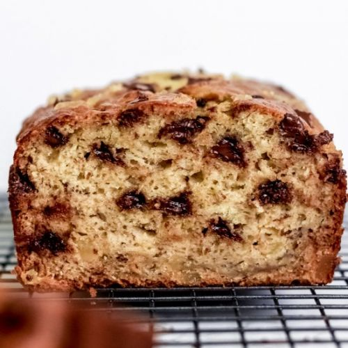 Ginger and Chocolate Banana Bread