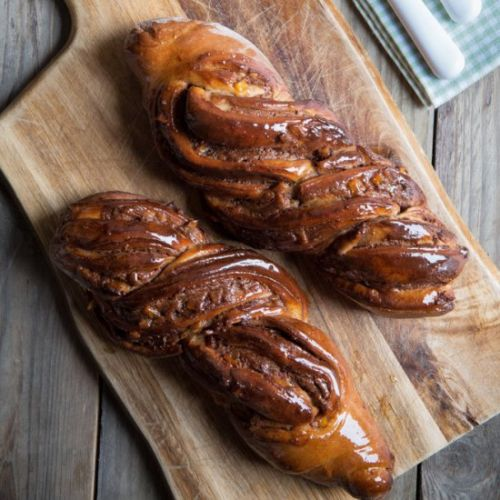 Spiced Chocolate Orange Twists