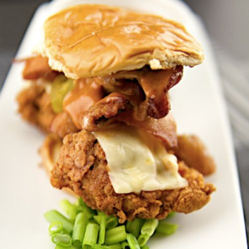 Spicy Crispy Bacon Chicken Sandwich