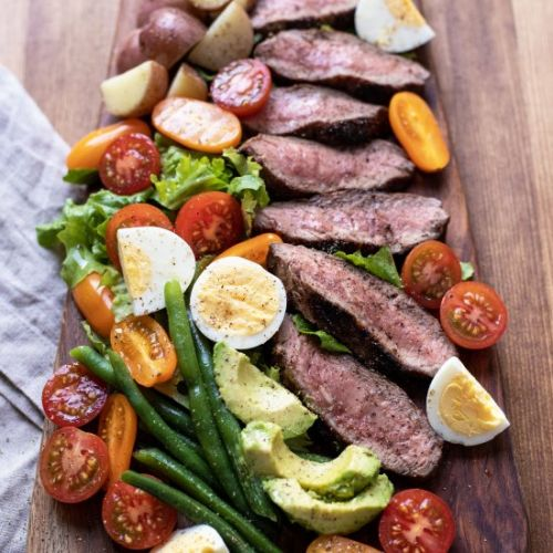 Steak Salad with Lemon Vinaigrette