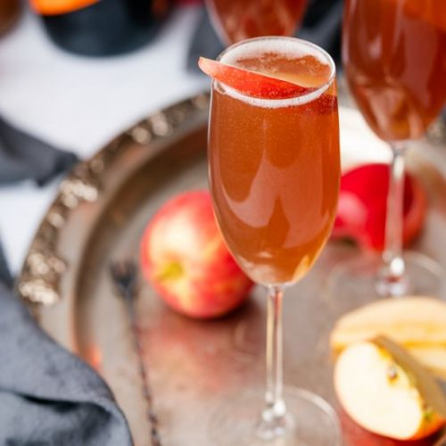 Spiced Apple Cider Spritzer