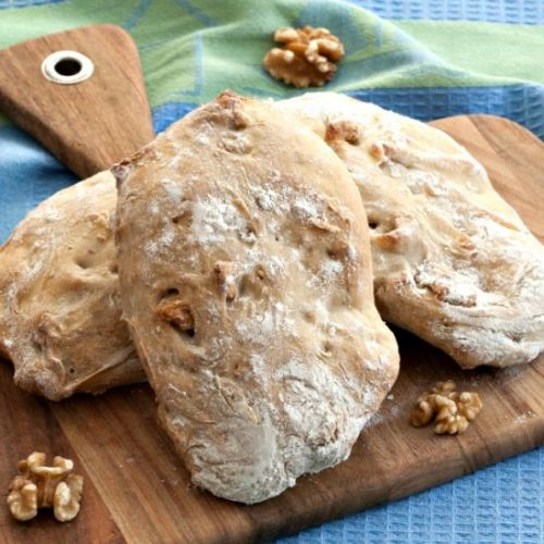 Walnut Ciabatta Bread