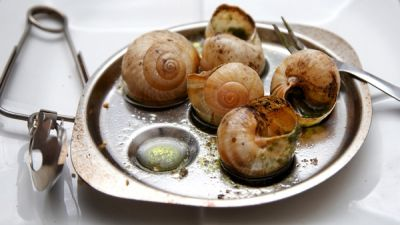 Mon Dieu! Burgundy Snails Aren't French Anymore