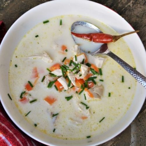 Best Creamy Chicken Soup
