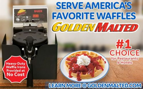 Serve America's Favorite Waffles with Golden Malted