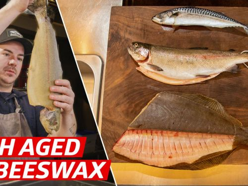 How Chef Jacob Harth Dry-Ages Fish in Beeswax