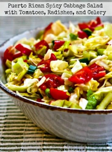 Puerto Rican Spicy Cabbage Salad