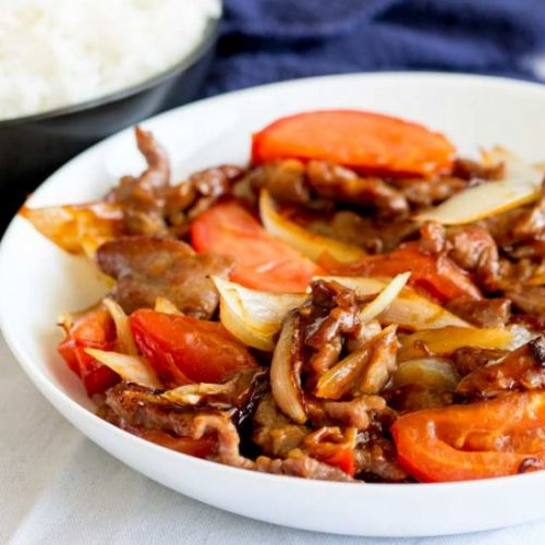 Cantonese Beef and Tomato