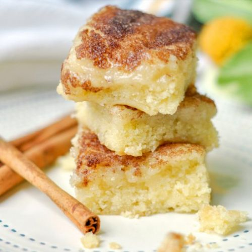 Gooey Cinnamon Butter Squares