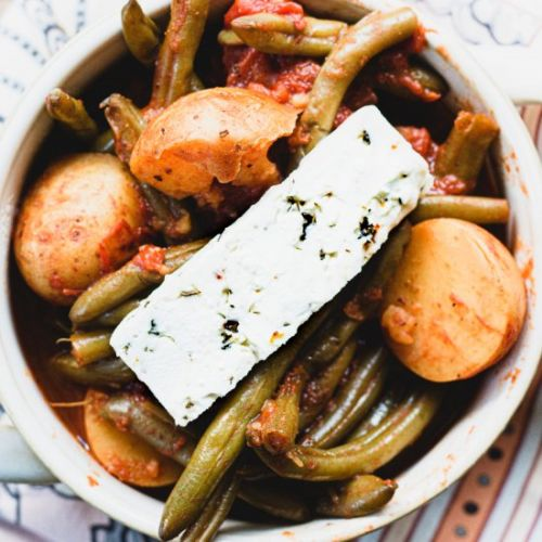 Greek Green Beans - Fasolakia