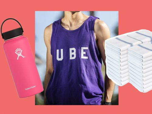 The Cool-Kid Water Bottle, an 'Ube' Tank Top, and More Things to Buy This Week