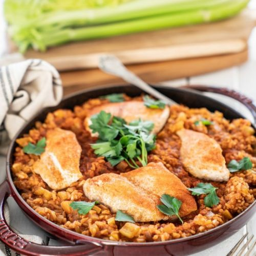 Easy One Pot Arroz Con Pollo