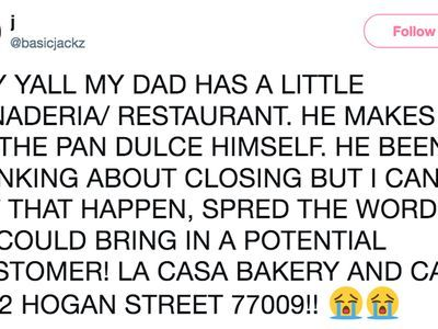 One Viral Tweet Saved This Houston Bakery