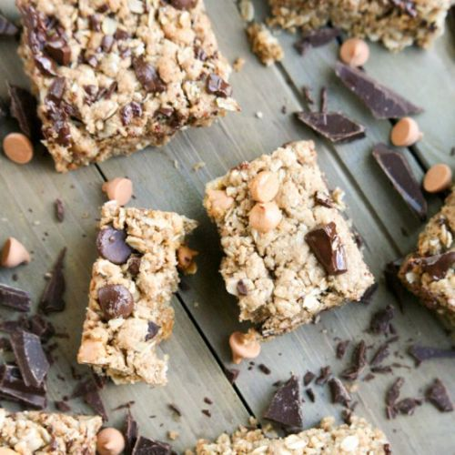Dark Chocolate Butterscotch Oat Bar