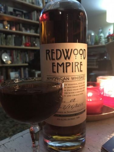 What I'm Drinking: This Morning, Like the Spirit of a Youth with Redwood Empire