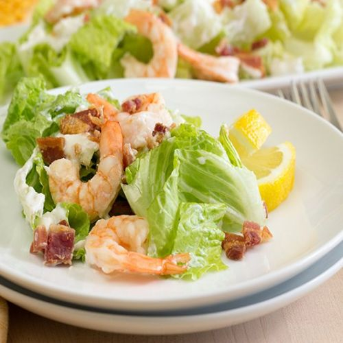 Shrimp Bacon Salad